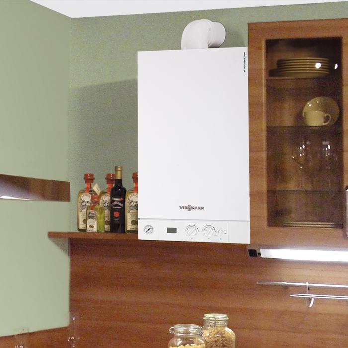 Vitodens 100 w viessmann rottigni plomberie chauffage - Meilleur rapport qualite prix chaudiere gaz a condensation ...